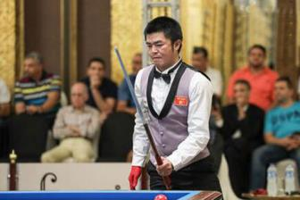 Nguyen Quoc Nguyen vao ban ket carom 3 bang vo dich the gioi