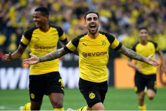 <b style='background-color:Yellow'>Dortmund</b> 4-3 Augsburg: Co mot Alcacer rat khac!