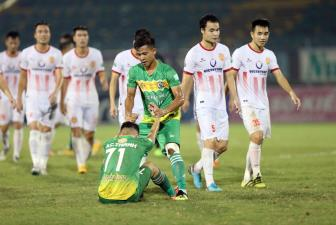<b style='background-color:Yellow'>Can Tho</b> ve hang Nhat, Nam Dinh doat suat da play-off