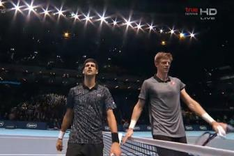 <b style='background-color:Yellow'>Ban ket</b> ATP Finals 2018: Djokovic vs Anderson