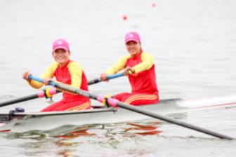 Rowing Dai hoi The thao toan quoc 2018: Ha Noi chiem uu the