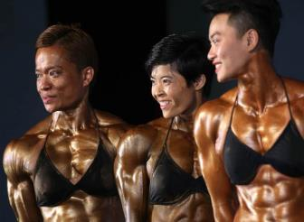 <b style='background-color:Yellow'>Dong Nai</b> gat lien 3 HCV mon The hinh va Fitness tai Dai hoi The thao toan quoc lan VIII