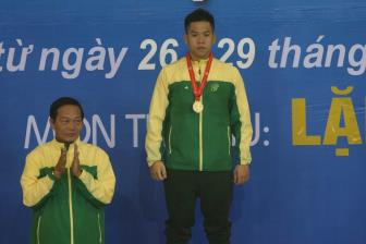Mon <b style='background-color:Yellow'>lan</b> DHTT toan quoc lan VIII: Tiep tuc boi thu cac ky luc quoc gia