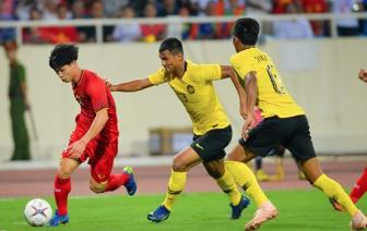 DT Viet Nam mac trang phuc do o tran <b style='background-color:Yellow'>chung ket luot di</b> AFF Cup 2018
