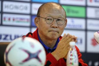 HLV Park Hang Seo quyet cung Viet Nam vo dich AFF Cup 2018