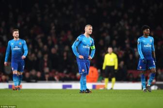 Arsenal 1-2 Ostersunds: Run ray gianh ve