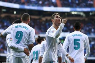 <b style='background-color:Yellow'>Real Madrid</b> 4-0 Alaves: BBC da tro lai