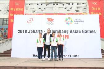 Ngay chay huong ung (Fun Run Day) ASIAD 18:  Viet Nam lap ky luc voi hon 3000 nguoi tham du
