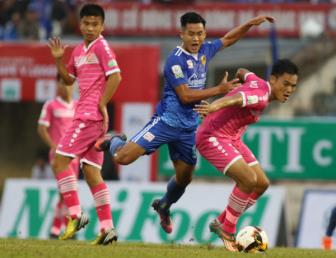 <b style='background-color:Yellow'>Sai Gon FC</b> quyet tam chen chan vao Top 5 V.League 2018
