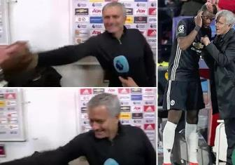 Khong duoc Pogba <b style='background-color:Yellow'>ton trong</b>, Mourinho noi con loi dinh
