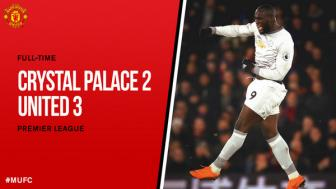 <b style='background-color:Yellow'>Crystal Palace</b> 2-3 Manchester United: Vo oa phut chot