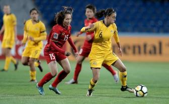 DT nu Viet Nam thua dam Australia tai <b style='background-color:Yellow'>VCK Asian Cup nu 2018</b>