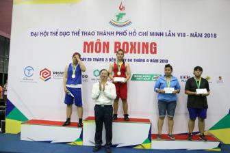 <b style='background-color:Yellow'>Boxing</b> TP.HCM giu duoc phong do tot