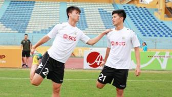 <b style='background-color:Yellow'>Ha Noi FC</b> don tin vui tu Duy Manh va Dinh Trong
