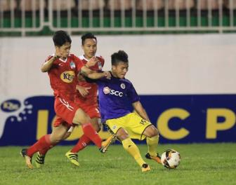 <b style='background-color:Yellow'>HAGL</b> ruot duoi ty so kich tinh voi Ha Noi FC o Cup quoc gia
