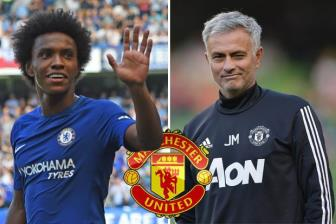 BAN TIN SANG 17/5: Man United di dem voi Willian