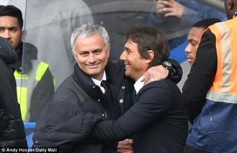 Mourinho tiet lo cai bat tay lam hoa voi <b style='background-color:Yellow'>Conte</b>