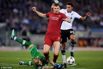 <b style='background-color:Yellow'>AS Roma</b> mat oan 2 qua phat den truoc Liverpool