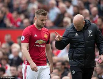 <b style='background-color:Yellow'>Luke Shaw</b> doi y, quyet o lai Man United chien dau