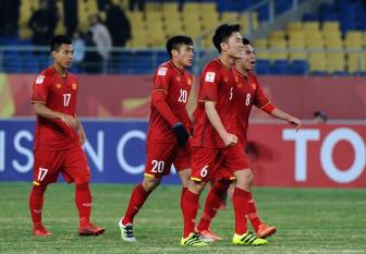 <b style='background-color:Yellow'>DT Viet Nam</b> da giao huu voi Qatar truoc them VCK Asian Cup 2019
