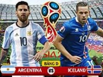 <b style='background-color:Yellow'>Argentina</b> – Iceland: De do Messi lo