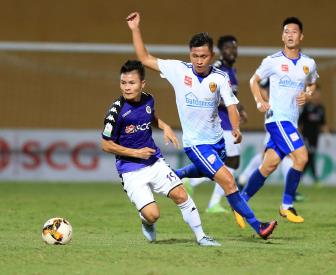 <b style='background-color:Yellow'>Ha Noi</b> FC gianh chien thang kich tinh truoc DKVD Quang Nam