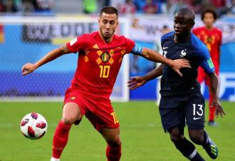 <b style='background-color:Yellow'>Eden Hazard</b> khong thich cach DT Phap thang o ban ket World Cup