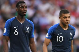 <b style='background-color:Yellow'>Mbappe</b> va Pogba lap ky luc tai World Cup 2018