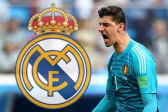 <b style='background-color:Yellow'>Real Madrid</b> dang cho Chelsea tim nguoi thay the Courtois