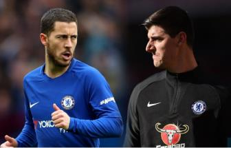 <b style='background-color:Yellow'>Chelsea</b> khong the dap ung yeu cau cua Hazard, Courtois va Willian