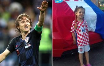 Modric don tim fan voi la thu gui co be ung thu