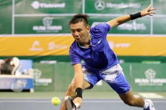 <b style='background-color:Yellow'>Ly Hoang Nam l</b>an dau qua vong loai ATP Challenger