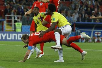 <b style='background-color:Yellow'>Colombia</b> 1 -1 Anh (pen 3-4): Anh lan dau vao Tu ket World Cup sau 12 nam