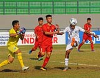 <b style='background-color:Yellow'>U16 Viet Nam</b> thang tung bung truoc U16 Timor Leste o giai DNA