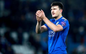<b style='background-color:Yellow'>Man United</b> tu choi chieu mo Harry Maguire voi gia 15 trieu bang