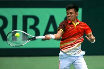 <b style='background-color:Yellow'>Hoang Nam</b> dung buoc o vong 2 giai Segovia Challenger