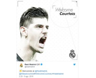 <b style='background-color:Yellow'>Real Madrid</b> xac nhan da chieu mo thanh cong Thibaut Courtois