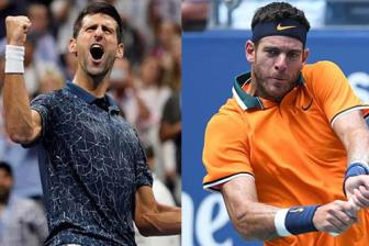 <b style='background-color:Yellow'>Video</b> chung ket US Open 2018: Djokovic 3-0 Del Potro