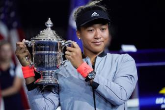 <b style='background-color:Yellow'>Vo dich</b> US Open, Naomi Osaka tren duong thanh co may kiem tien