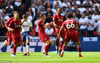 <b style='background-color:Yellow'>Tottenham</b> 1-2 Liverpool: Khong the cuong lai