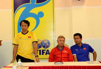 <b style='background-color:Yellow'>U16 Viet Nam</b> huong toi muc tieu gianh ve du VCK U17 World Cup 2019