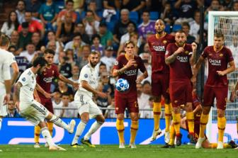 Real Madrid 3-0 AS Roma: Nhanh va an toan