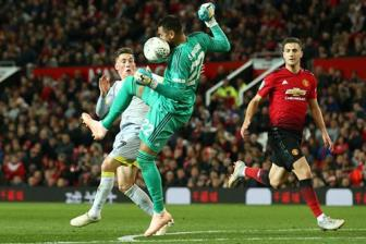 <b style='background-color:Yellow'>Video</b> vong 3 Cup lien doan Anh: Man Utd 2-2 Derby County