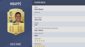 "<b style='background-color:Yellow'>Mbappe</b> chay nhanh ""vo doi"" trong FIFA 19"