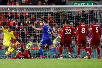 <b style='background-color:Yellow'>Liverpool</b> 1-1 Leicester City: Doi khong nhu mo
