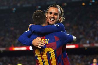<b style='background-color:Yellow'>Messi</b> noi thang vi sao Griezmann gap kho o Barca