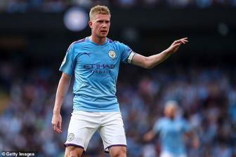 Crystal Palace - Man City: Niem tin tu De Bruyne