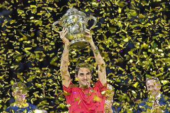 <b style='background-color:Yellow'>Federer</b> lan thu 10 vo dich ATP Basel