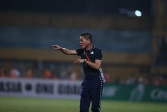 HLV <b style='background-color:Yellow'>Chu Dinh Nghiem</b> tiec nuoi khi Ha Noi dung buoc o AFC Cup