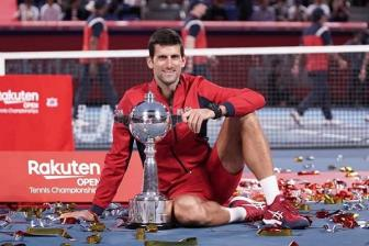 Djokovic vo dich Japan Open
